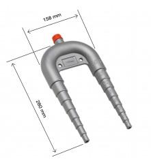 Vented Loop - Ø 13mm to Ø 38mm