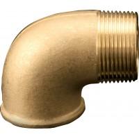 90° Brass Elbow (Male / Female)