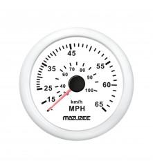 Speedometer 65MPH - White