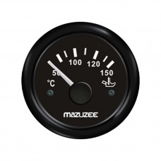 Oil Temperature Gauge - Black