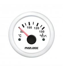 Oil Temperature Gauge - White