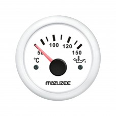 Oil Temperature Gauge - White