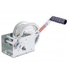 2-speed Winch, plated - 2,000 lb