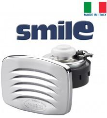 SMILE Built-in Horn with Chromed Grill; Blister