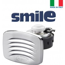 SMILE Built-in Horn with Chromed Grill; Blister
