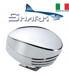SHARK Single Horn - Chrome; Blister