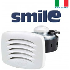 SMILE Built-in Horn with White Grill; Blister