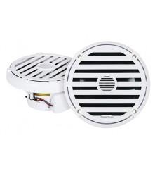 "ELITE 6.5"" RGB Marine Speakers (White)"