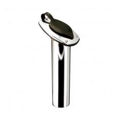Chromed Brass Flush Rod Holder