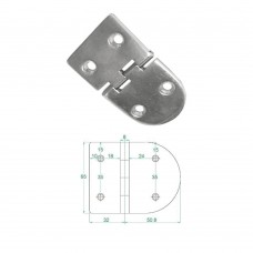 Heavy Duty Hinge S.S 316 Model No: 81003-01/1