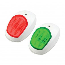 LED Navigation Side Light Red & Green Pair - (C91106PW-W)