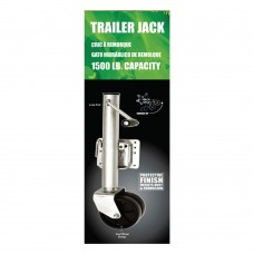 Trailer Jack Dual Wheel - (1500 lbs)