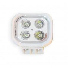 LED Spot Light 4 LED - Surface Mount MS-2210-40W-WH