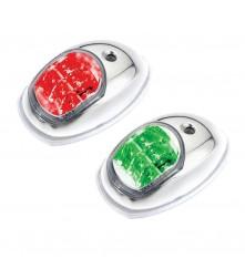 LED Navigation Side Light Red & Green Pair - (C910006S-2)