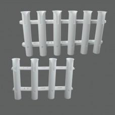 Tube Plastic Rod Holder