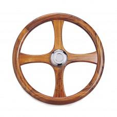 """18"""" Wood Steering Wheel"""
