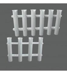 Tube Plastic Rod Holder Model: 54078-XX