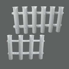 Tube Plastic Rod Holder Model: 54078-XX