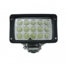 LED Spot Light 15 LED - Surface Mount MS-2210-45W-BK