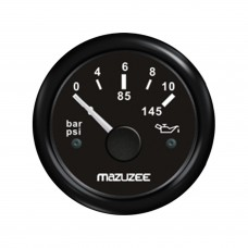 Oil Pressure Gauge - Black