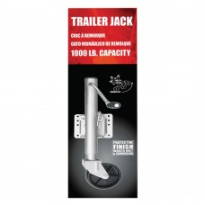 Trailer Jack Single Wheel - (1000 lbs)