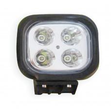 LED Spot Light 4 LED - Surface Mount MS-2210-40W-BK