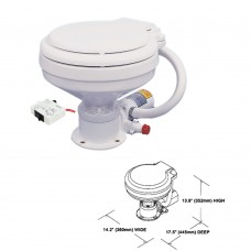 Electric Marine Toilet (Previous Part No. TMC-99902) - TMC-29920