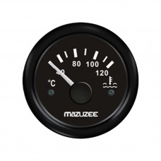 Water Temperature Gauge - Black