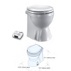 Electric Marine Toilet (Previous Part No. TMC-99907) - TMC-29931