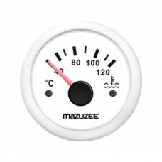 Water Temperature Gauge - White