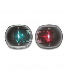 Navigation Side Light Red & Green Pair - (00291-WH & 00292-BK)