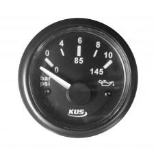 Oil Pressure Gauge - Black