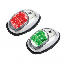 LED Navigation Side Light Red & Green Pair - (C91106S-B)