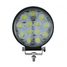 LED Spot Light 13 LED - Surface Mount MS-2205-39W-BK