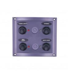 4 Gang Switch Panel Model: 10144-LT
