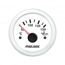 Oil Temperature Gauge - White - JY14303