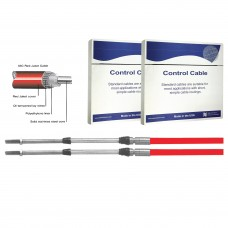 Teleflex 33C Red Control Cables & New TFXTREME Red Control Cable