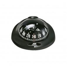 Offshore Compass 75, Flush Mount Horizontal Surface - Black Color