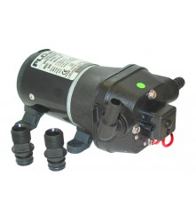 Water Pressure-Controlled Pump With Internal Bypass