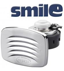 SMILE built-in horn with chromed grill, blister