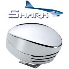 SHARK Single horn, chromed , blister