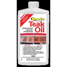Premium Penetrating Sealer-Perserver Teak Oil