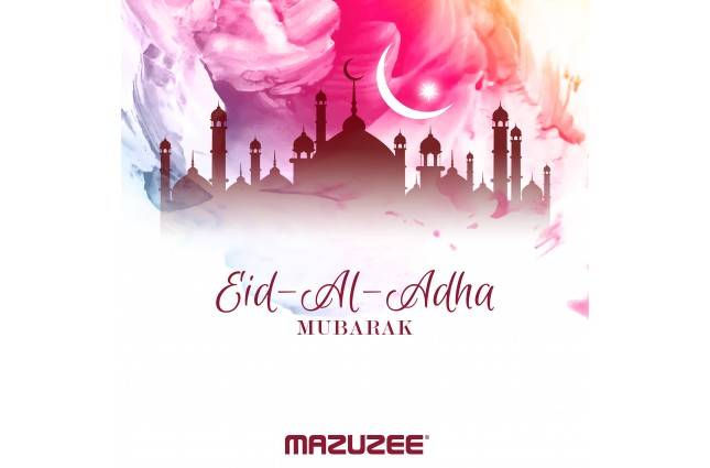 Mazuzee Wishes You a Blessed Eid Al Adha