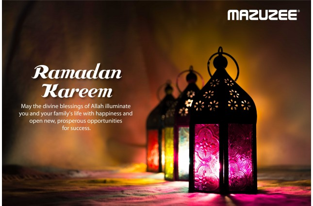 Mazuzee Wishes You a Blessed Ramadan