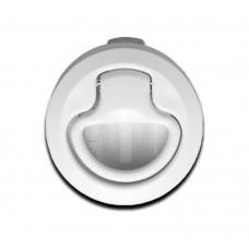 Lift Handle Flush Latch - White