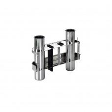 Stainless Steel Rod Holder - 2 Rods