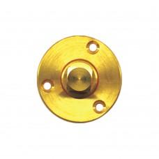 "Brass Garboard Drain Plug - Size 2"""