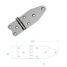 Stainless Steel Hinge 304 Model No: 52584