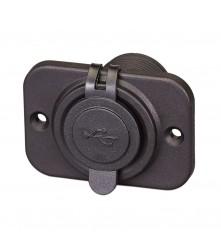 Duel USB Port With Cap Model: 01435