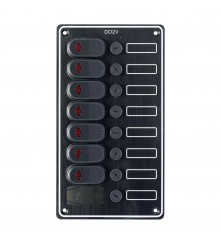 7 Gang Switch Panel - With USB Port